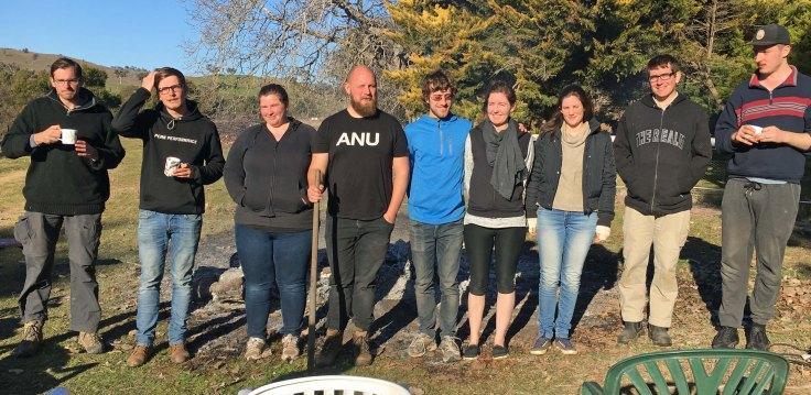 Planting crew day 3 2017
