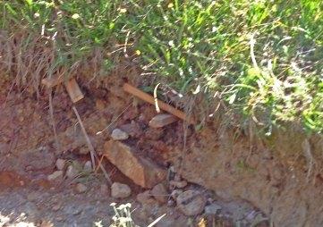 erosion control undercut support pegs