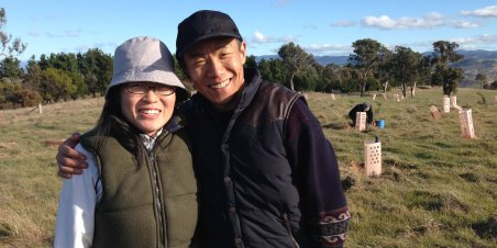 Linda Ren and Wilson