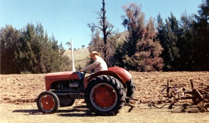 Dad with tractor 1967