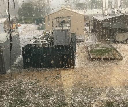 Hail damage ANU